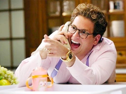 Jonah Hill played a wealthy man in the movie'The Wolf of Wall Sreet'