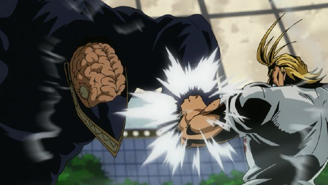 All Might VS Nomu