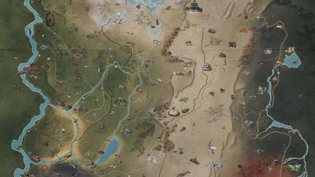 Fallout 76 Maps