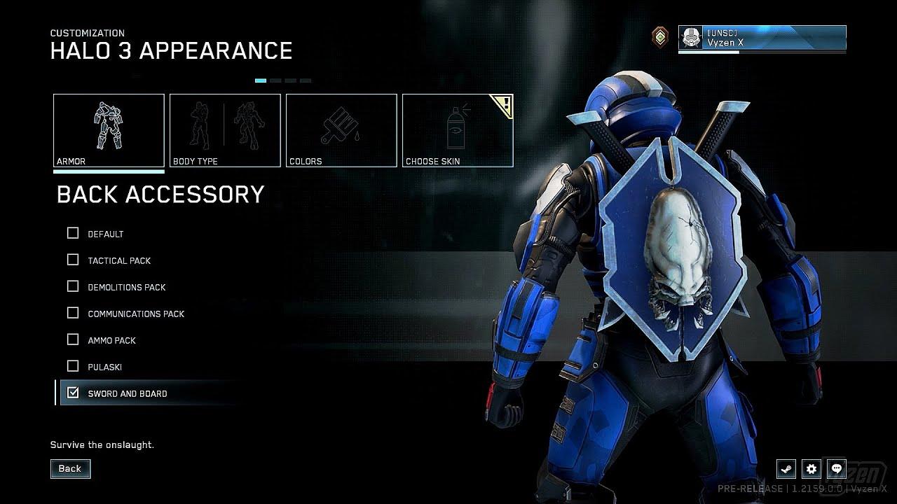 Halo: MCC backside