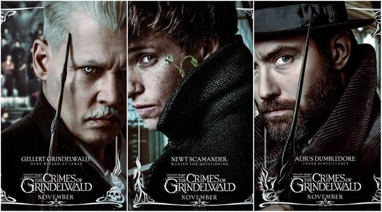 Fantastic beasts: The crime of Grindelwald