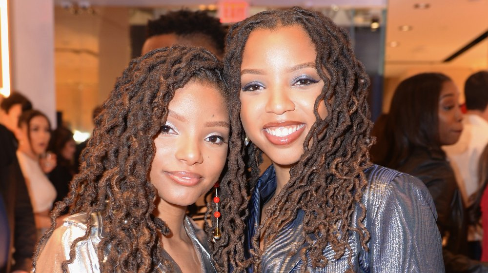 ChloexHalle at an event in Los Angeles