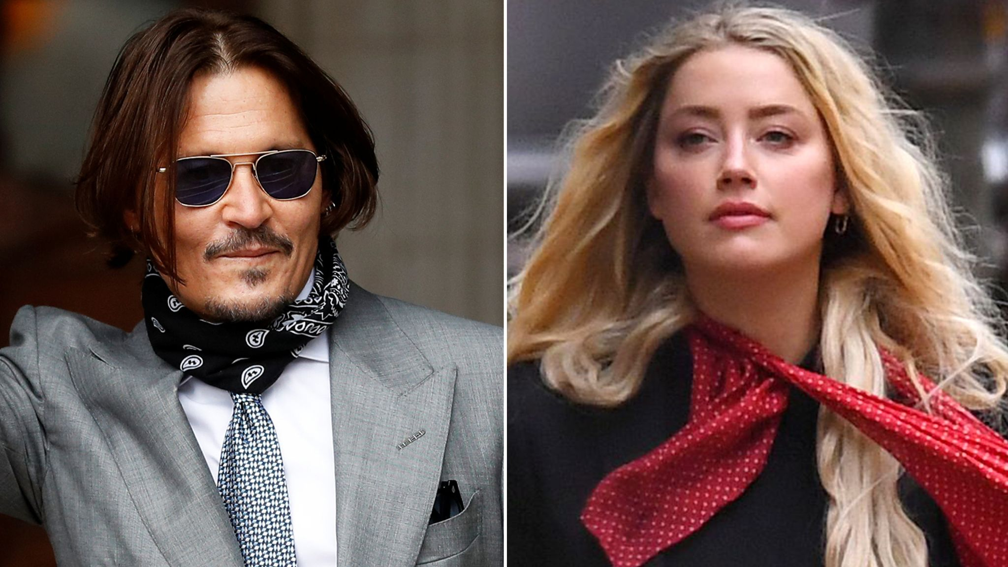Johnny Depp and Amber Heard Law Battle