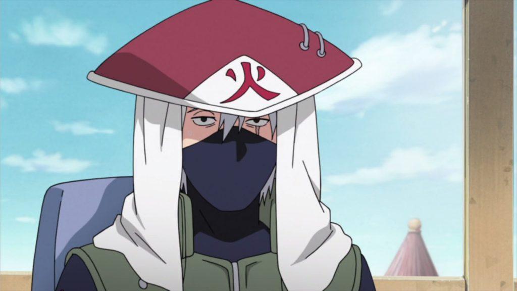 Kakashi as Hokage