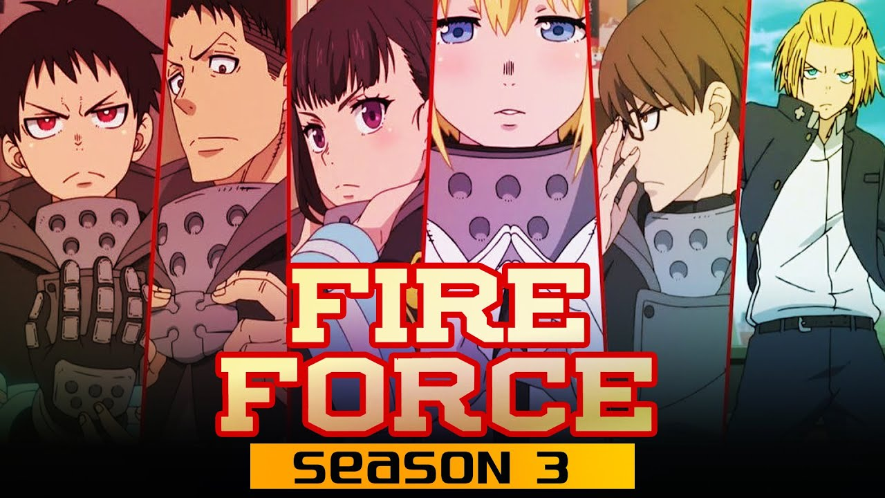 Preview And Release Date: Fire Force Season 3