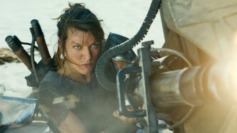 Mila Jovovich In Monster Hunter