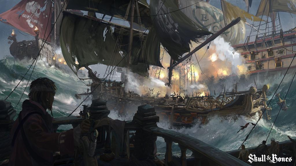 The Skulls and Bones ship