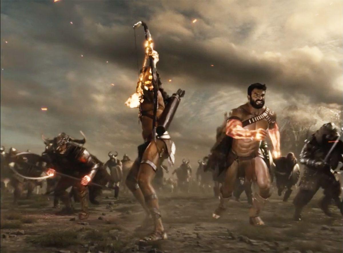 Zeus, Area, Darkseid Justice League