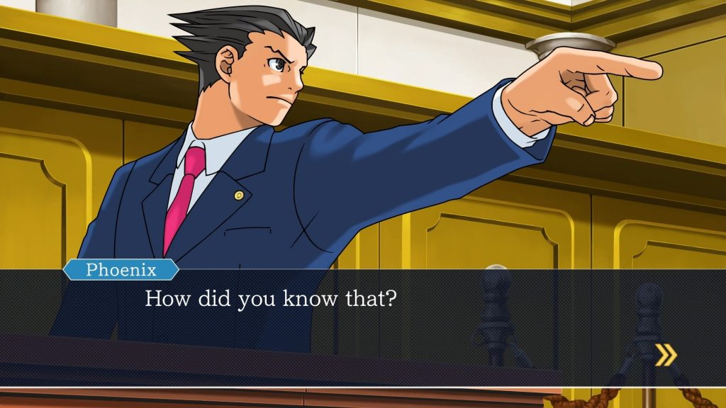Phoenix Wright is a well-loved mystery solving visual novel.