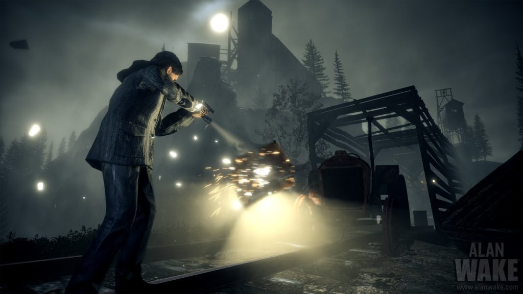 The light is your biggest weapon in this thriller game Alan Wake.