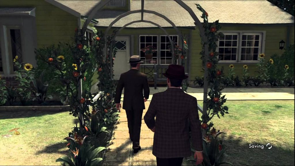 L.A. Noire is a detective thriller that takes inspiration from the film noir genre.
