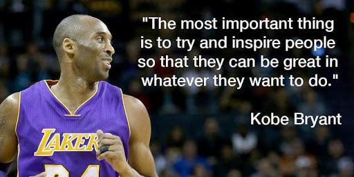 20 Kobe Bryant's quotes about life.