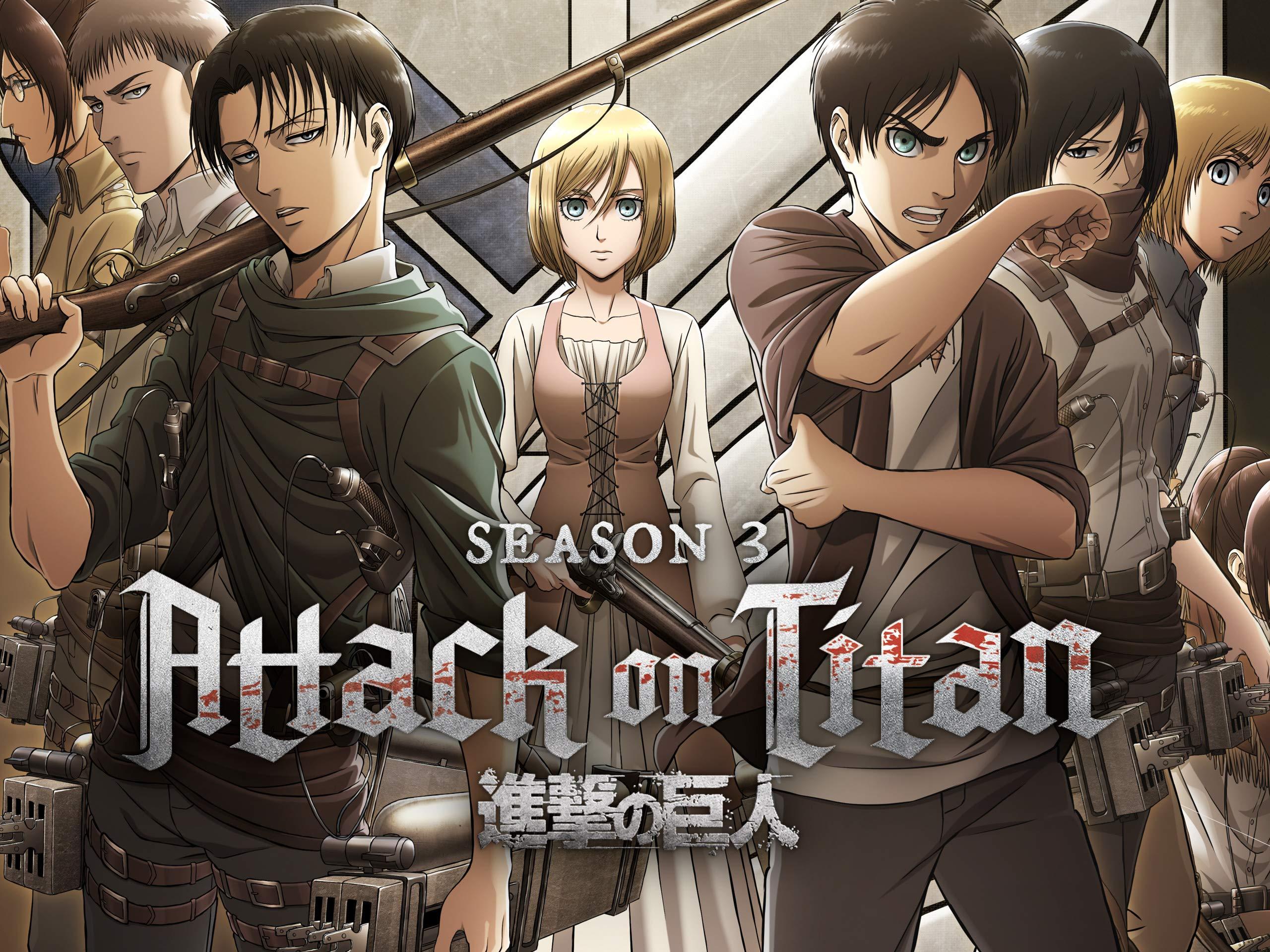 Watch Attack on Titan, Season 3, Pt. 1 | Prime Video