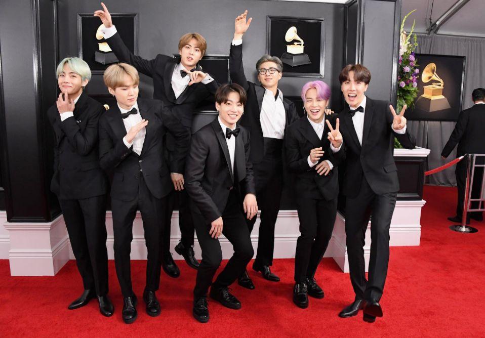 BTS at Grammys Awards