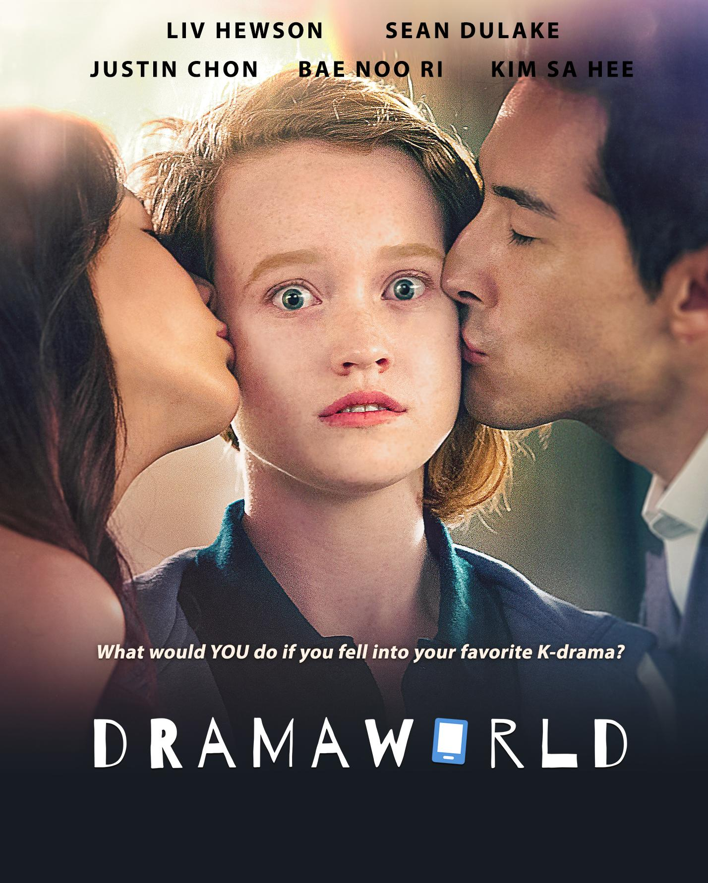 Liv Hewson(Claire) gets sucked into the Dramaworld