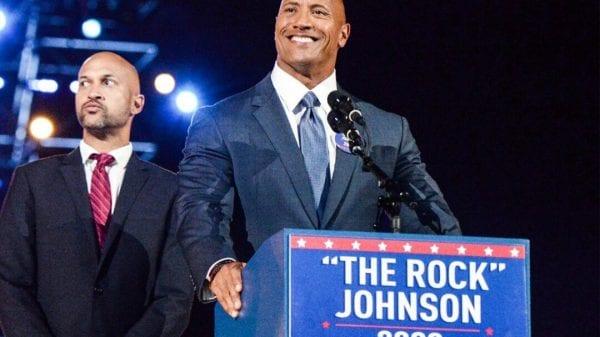 Dwayne Johnson Presidential Run