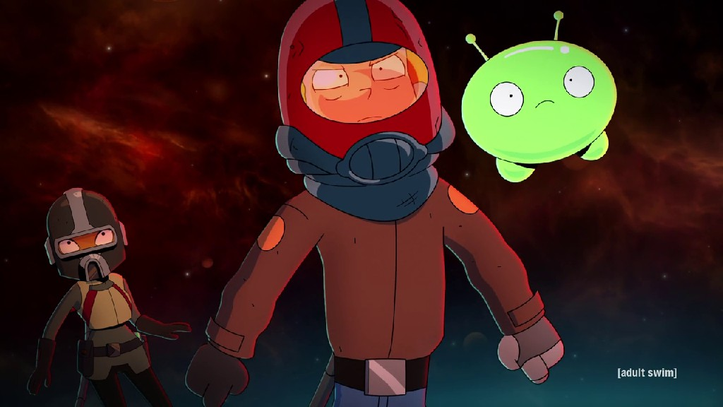 Gary Reunites With Mooncake In Final Space S03E03