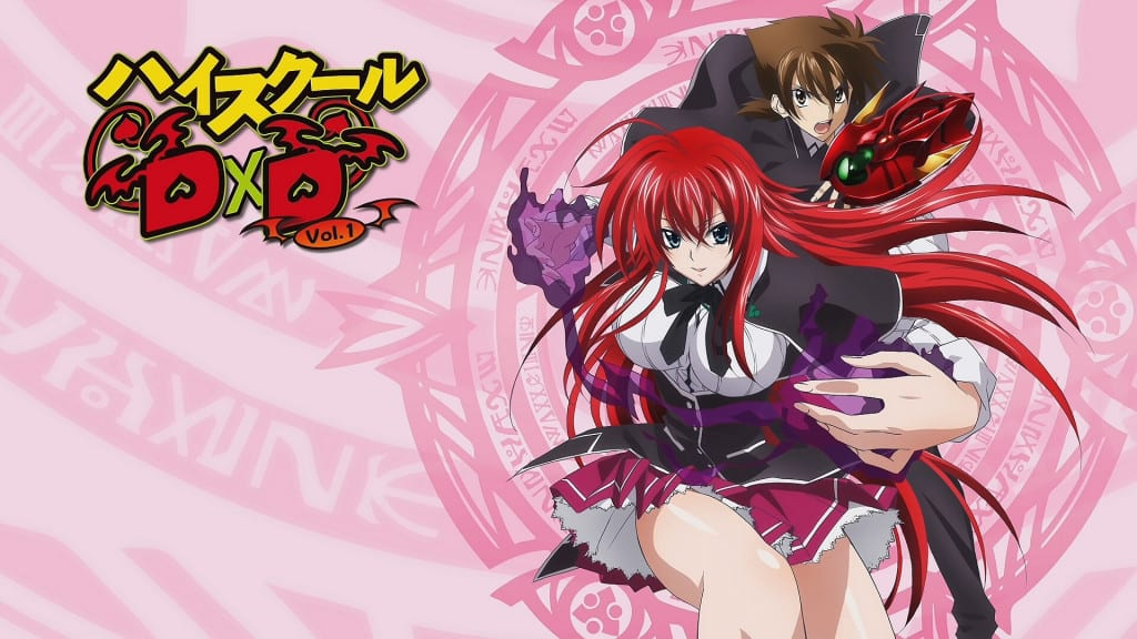 poster high school dxd