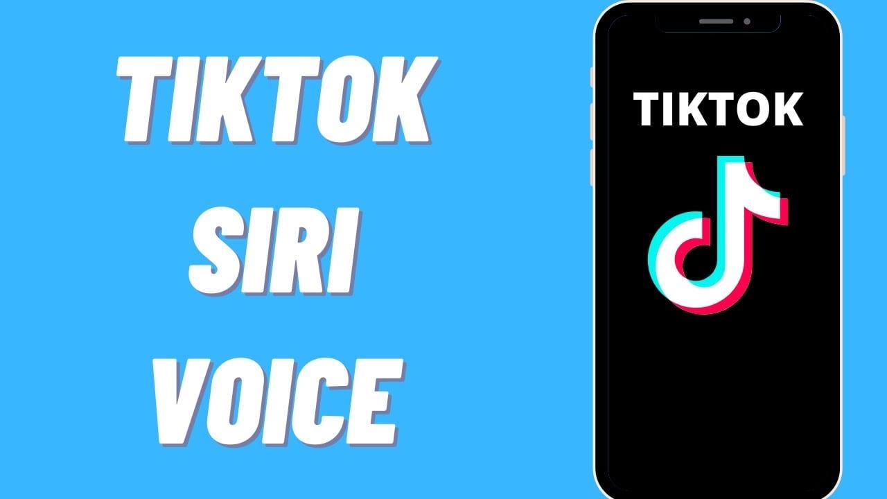 How to Get Siri Voice on TikTok