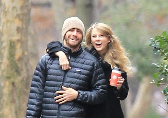 Jake Gyllenhaal once dated Taylor Swift