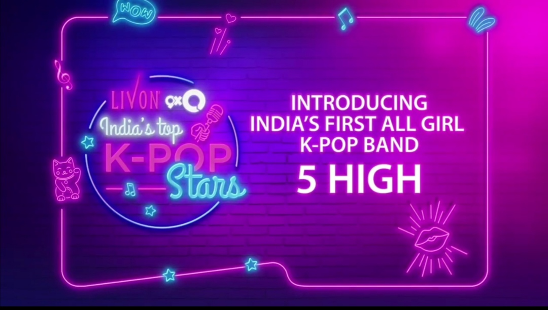 Indian K-pop band : Credit goes to Livon