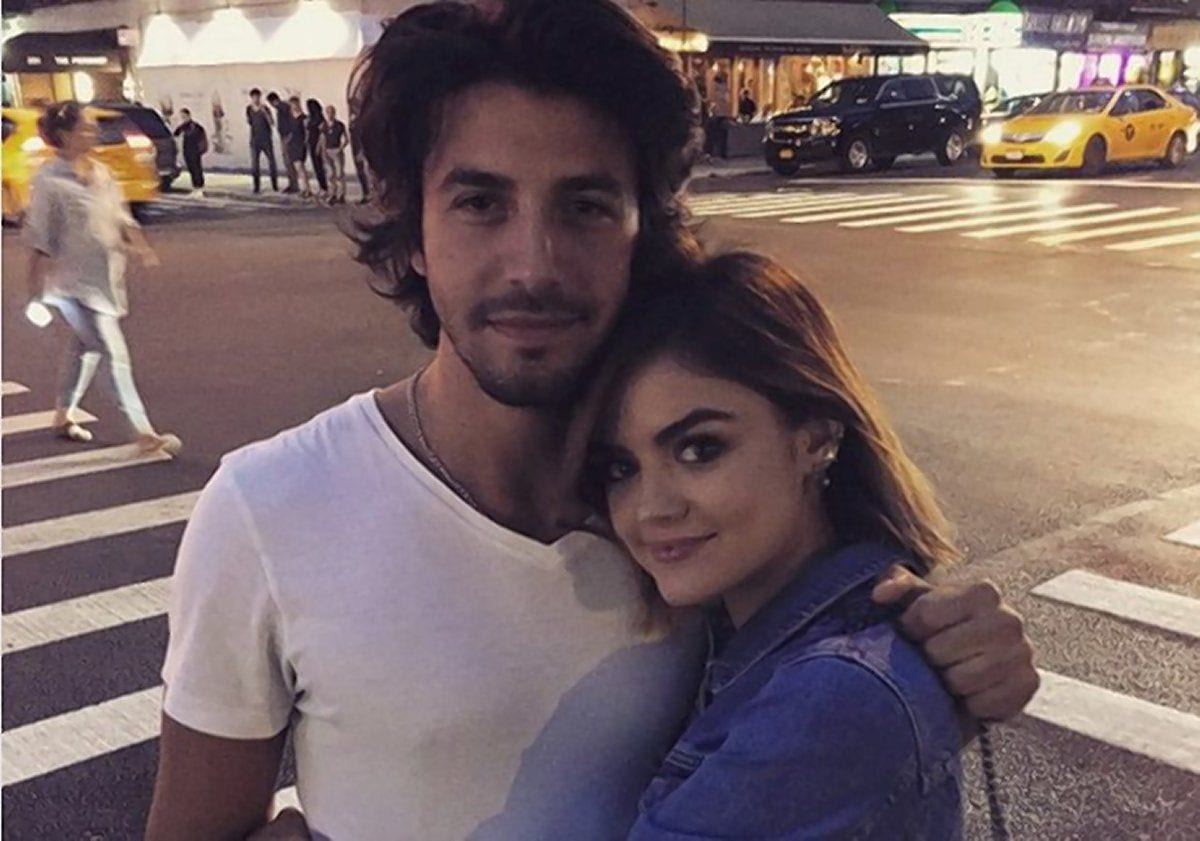 Lucy Hale Dated Musician Anthony Kalabretta