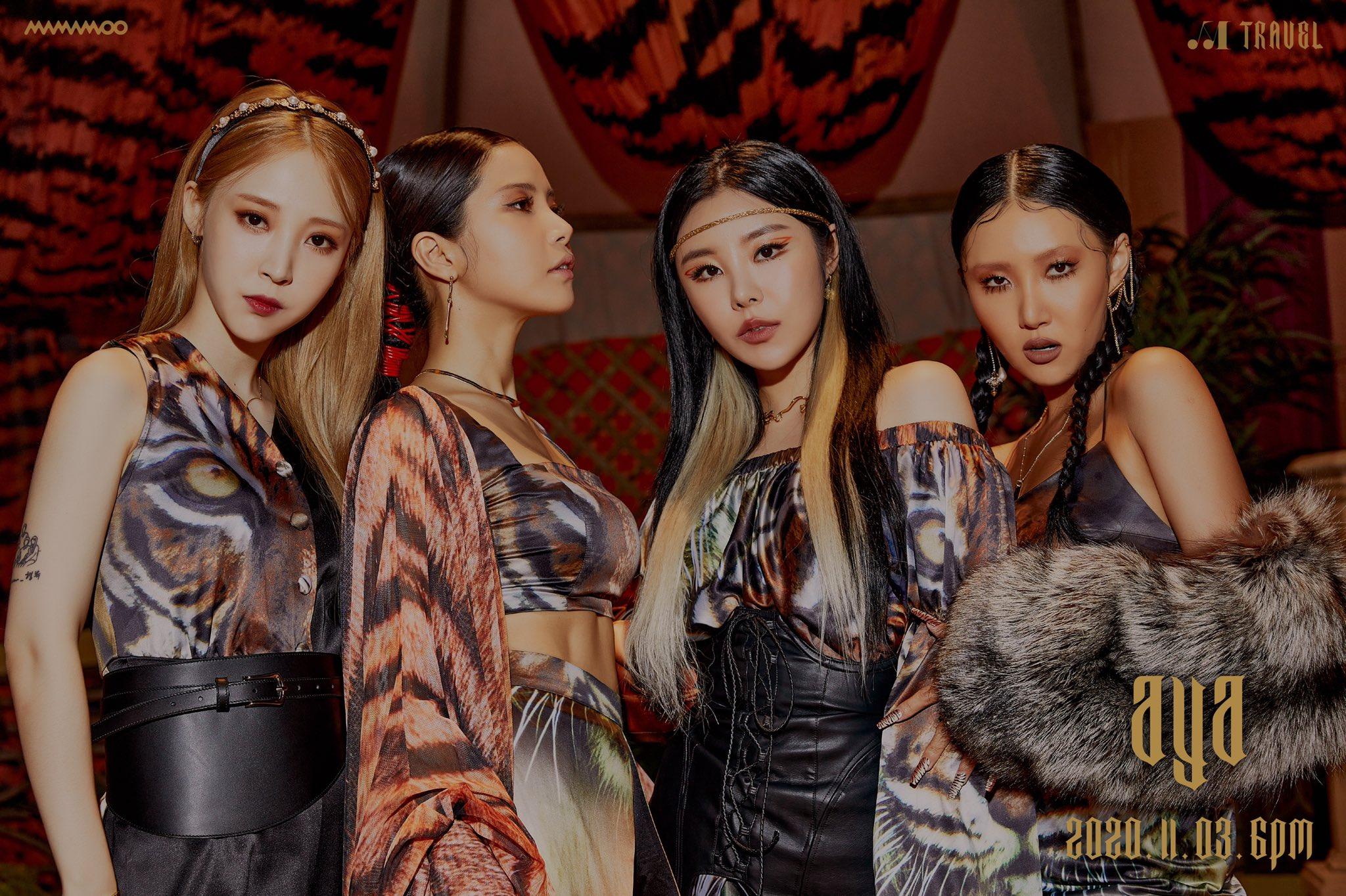 mamamoo Popular Kpop Groups Worldwide-2021
