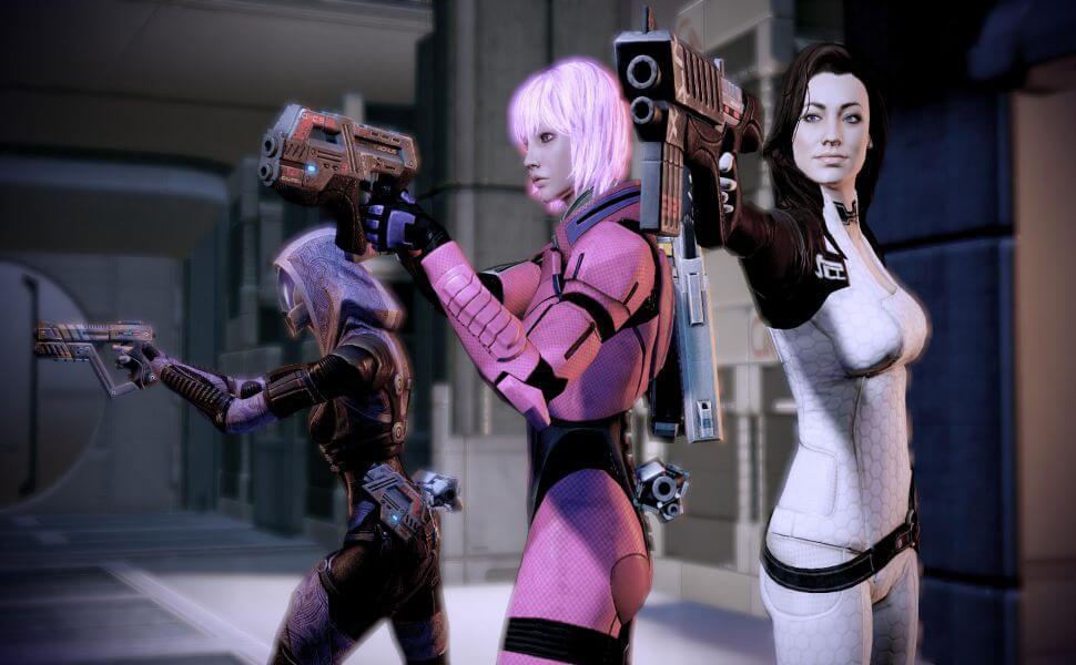 Mass Effect 2 cover