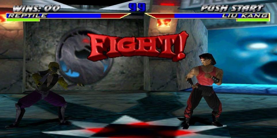 Mortal Kombat 4 Fight Scene