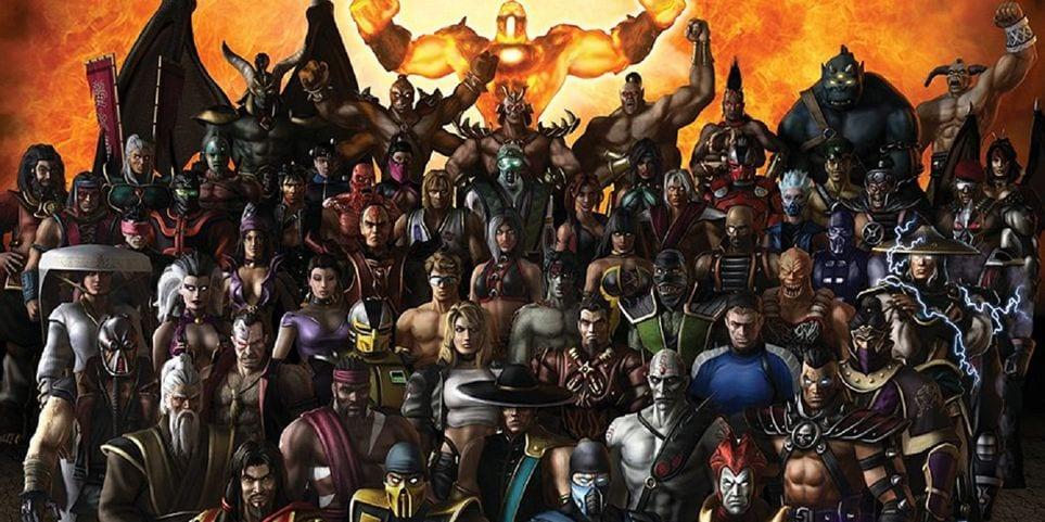 Mortal Kombat Armageddon Roster