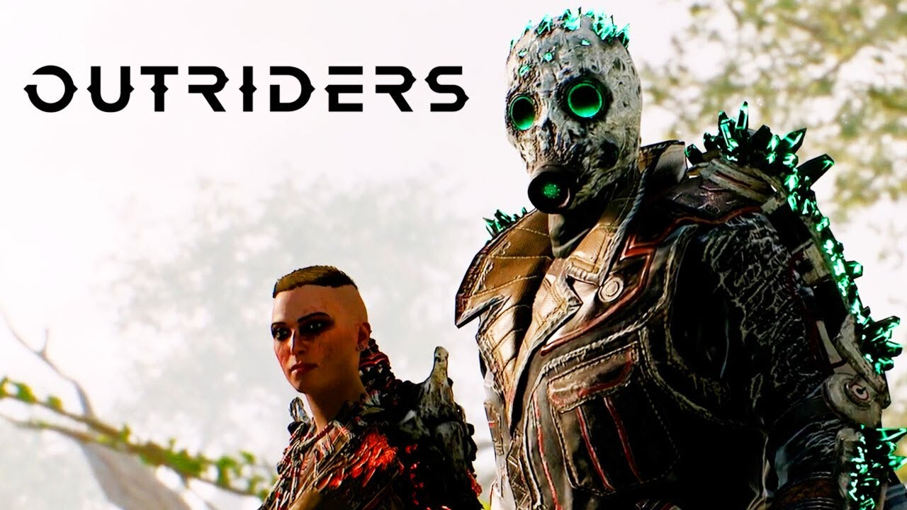 Outriders poster