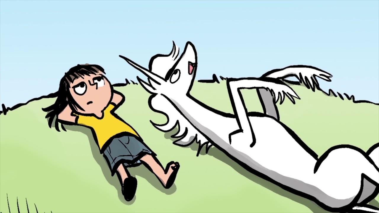 Phoebe and her Unicorn by Dana Simpson
