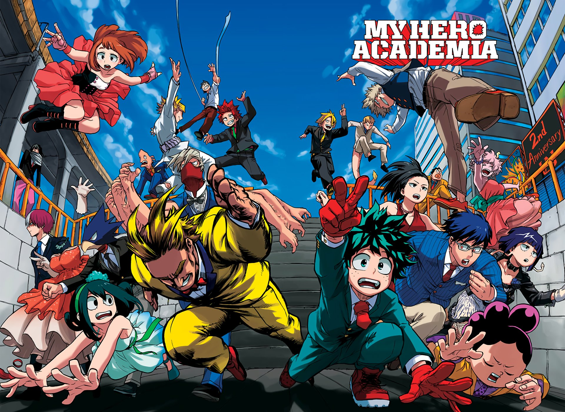 The Official Poster Of'My Hero Academia'