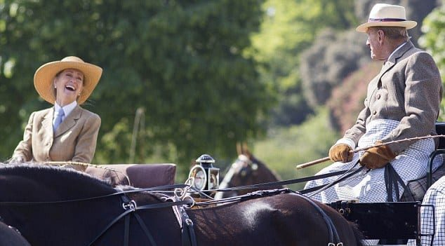 The Close Friendship Of Prince Philip And Penny Brabourne
