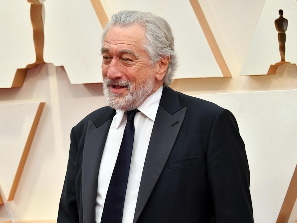 Robert De Niro Divorce