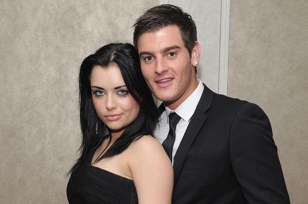Shona McGarty with Matt Lapinskas