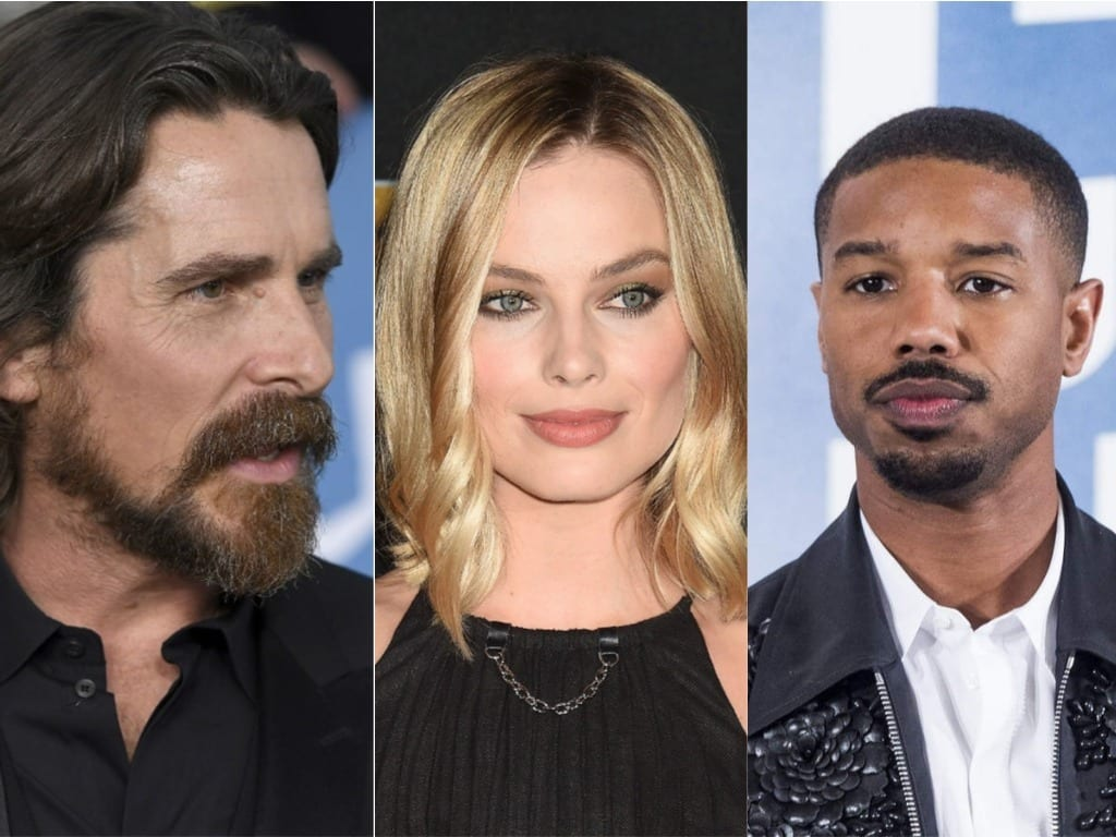 Christian Bale, Margot Robbie and Michael B. Jordan Join the David O Russell Project