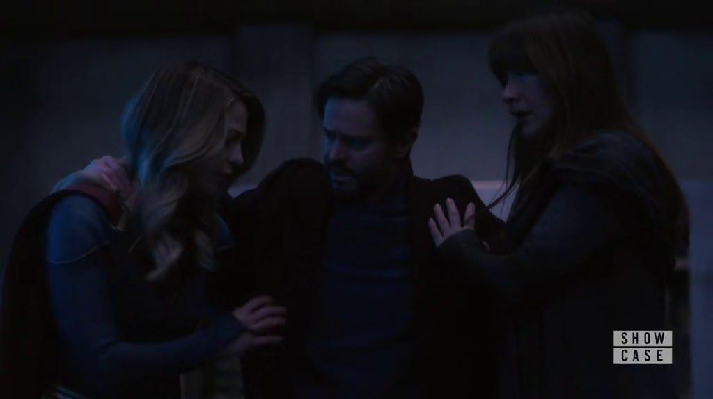 Kara, Zor El and Nxylx Plan an Escape Through Mirror In Supergirl S06E04