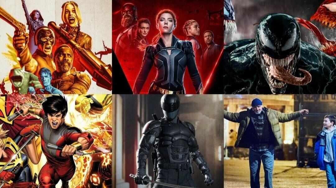 Top Superhero Movies in 2021