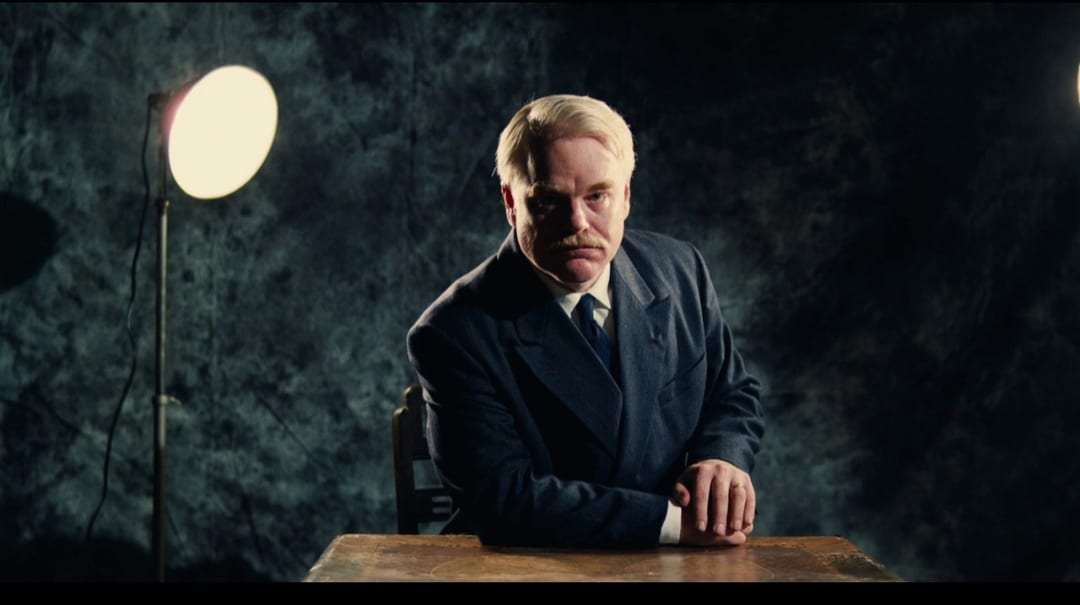 Phillip Seymour Hoffman in The Master