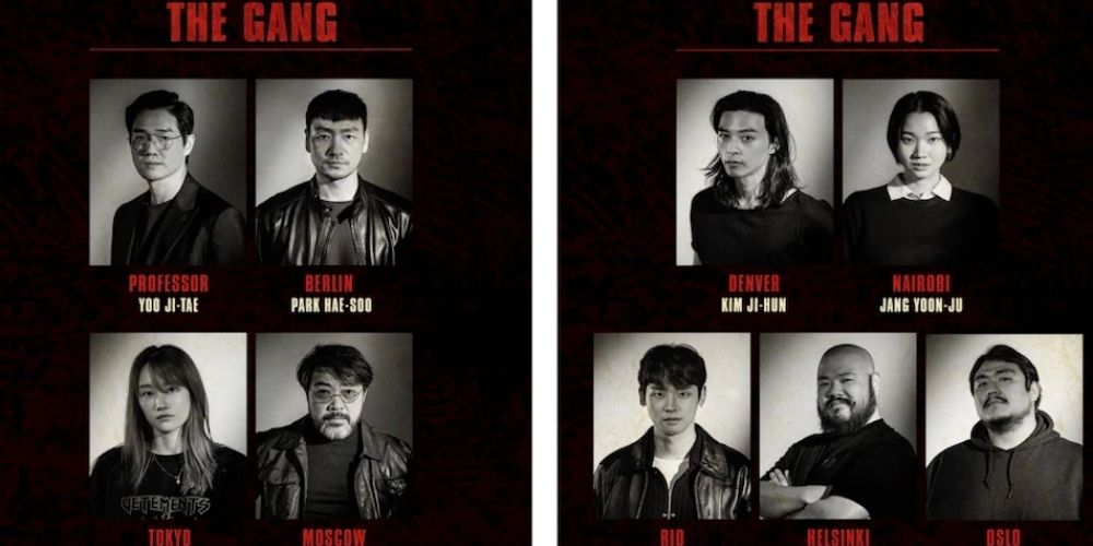 Korean Money Heist Cast and synopsis