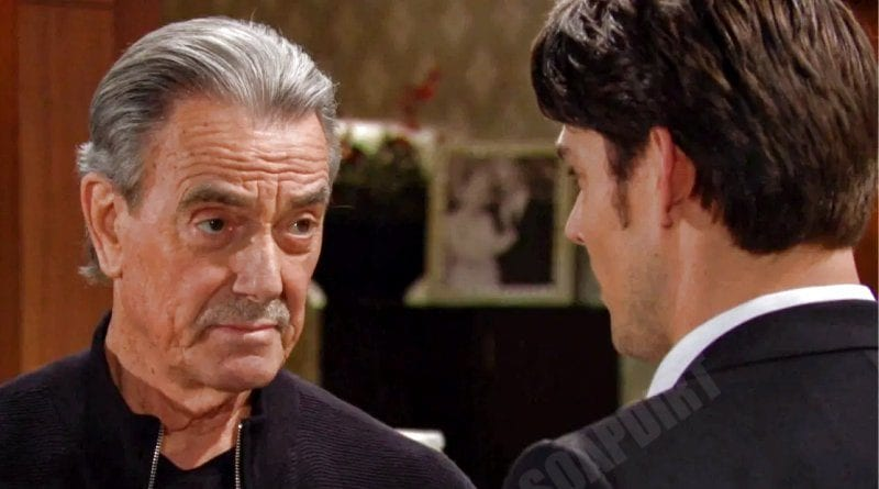 Adam Newman Tells His Plan Of Leaving To His Father Victor