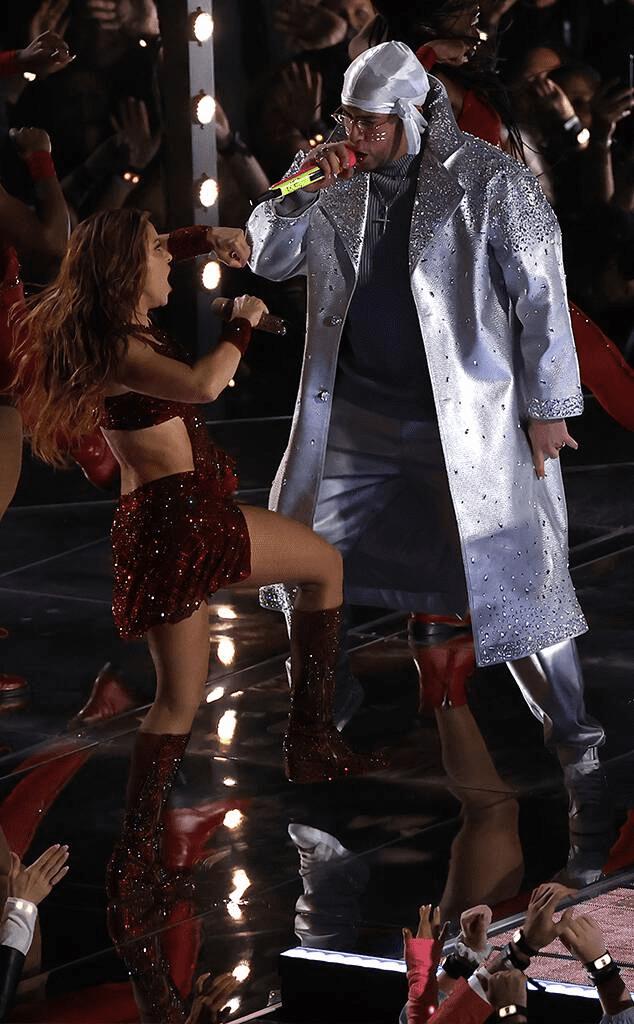 Bad Bunny and Shakira