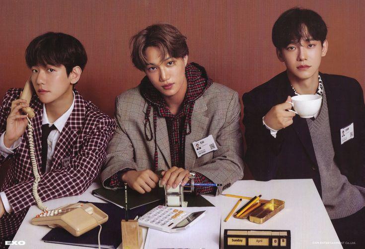 Baekhyun,Kai,Chen.