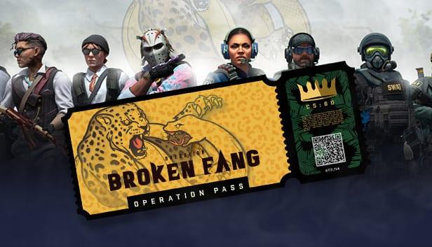 Broken Fang CS:Go battle pass