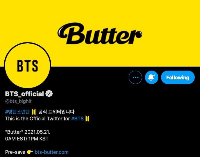 BTS Butter promotional schedule