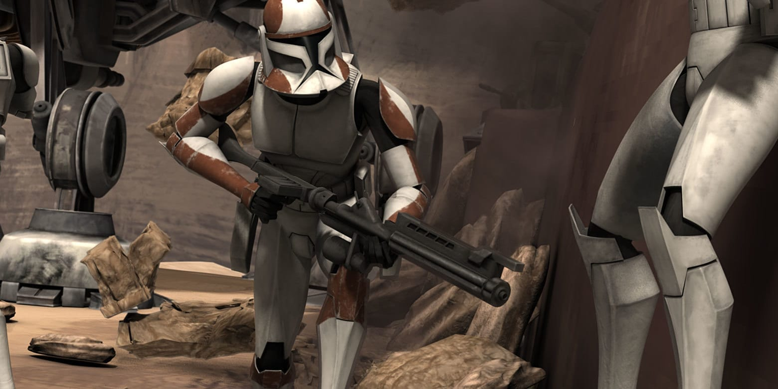 Clone Commander Ponds |The Best Star War Clone Troopers List