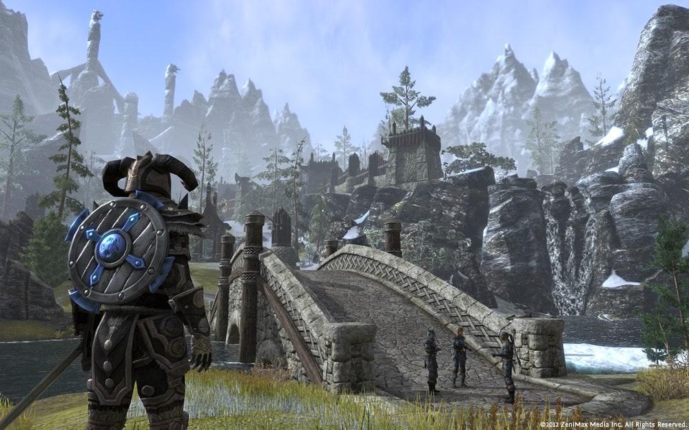 Elder Scrolls Online cover