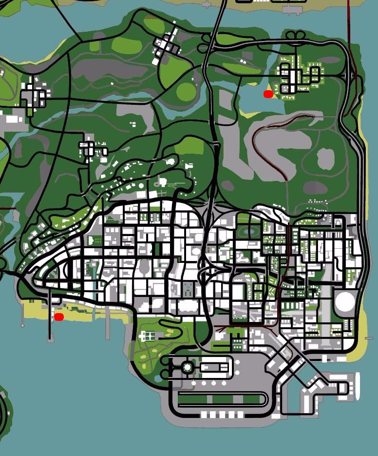 GTA 6 Rumored map part