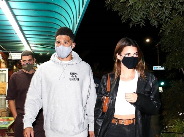 Kendall Jenner And Devin Booker On Date